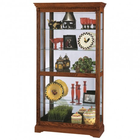 Howard Miller Donegal Traditional Collectors Cabinet 680-339
