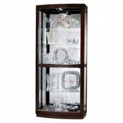 Howard Miller Bradington Curio display Cabinet 680-395