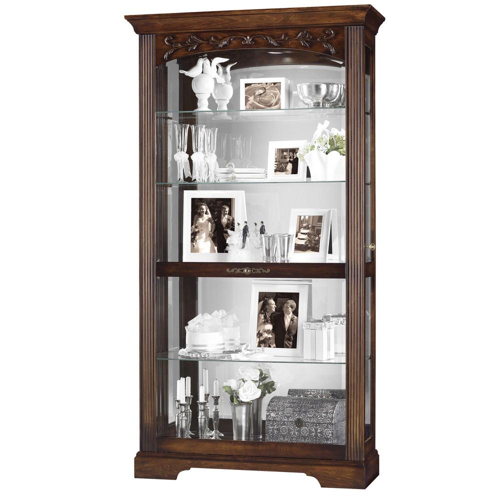 Howard miller hartland curio display cabinet 680445 for Curio cabinet