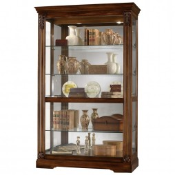 Howard Miller Ramsdell Curio display Cabinet 680-473