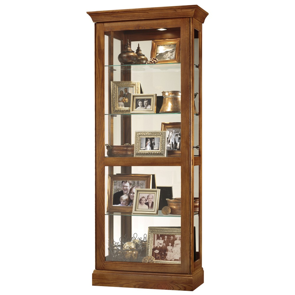 Howard miller berends ii curio display cabinet 680478 for Curio cabinet