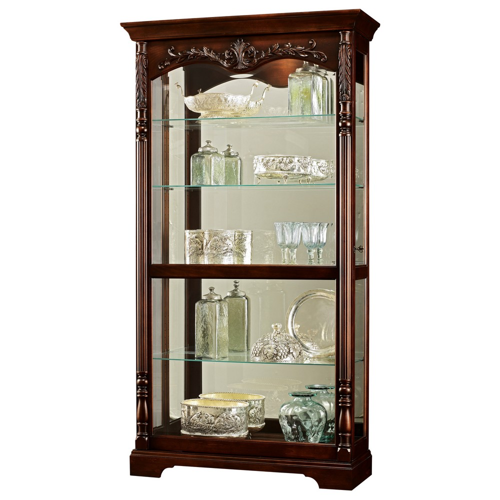 Curio Cabinets Contemporary Traditional Amp Transitional