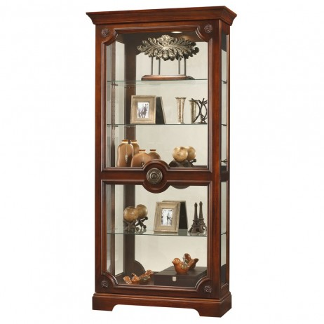 Howard Miller Ashford Curio Display Cabinet 680527 680-527