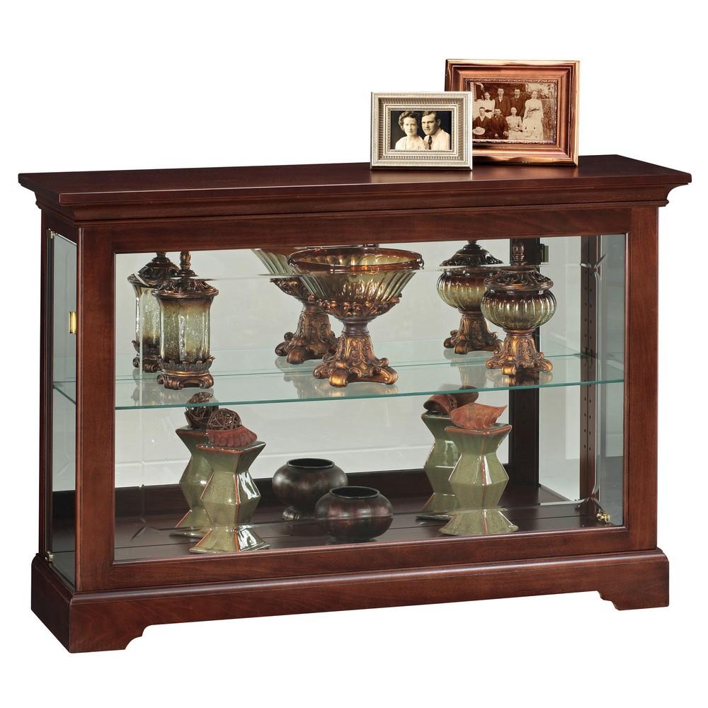 Howard miller underhill curio display cabinet 680533 for Curio cabinet