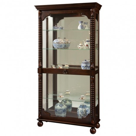Howard Miller Canyon Curio Display Cabinet 680541 680-541