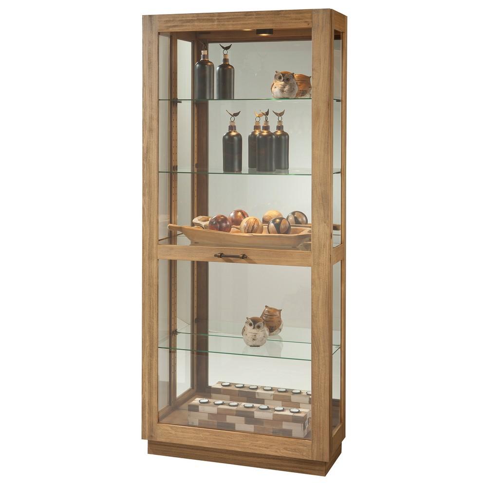 Curio Cabinet Howard Miller Marsh Bay Display Cabinet