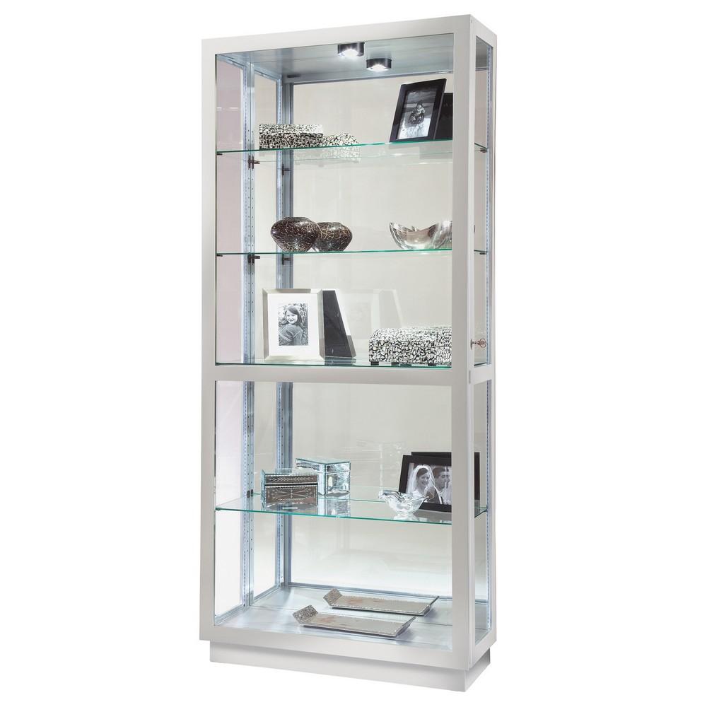 Howard miller jayden ii curio display cabinet 680576 for Curio cabinet
