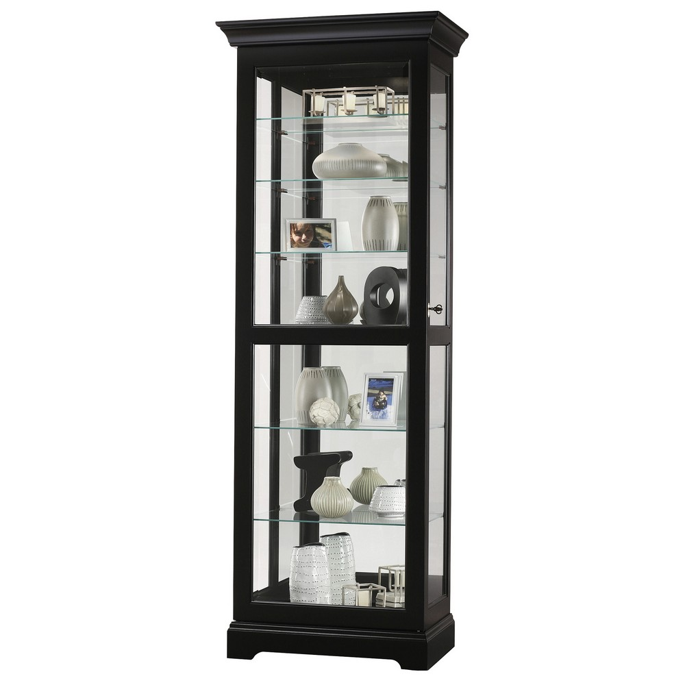 Howard miller martindale iii curio display cabinet 680578 for Curio cabinet
