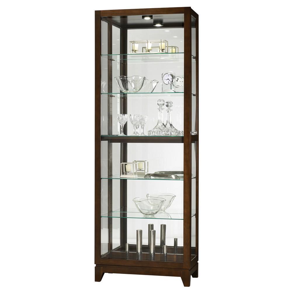 Howard miller luke curio display cabinet 680588 for Curio cabinet