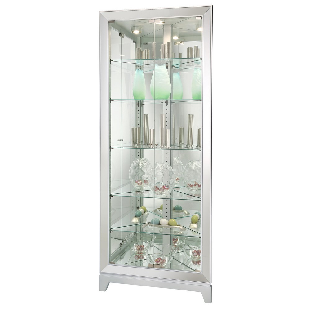 Howard Miller Ronan Corner Curio Display Cabinet 680601