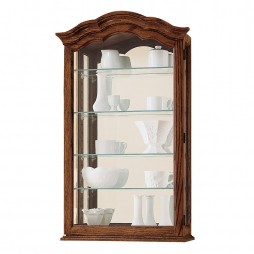 Howard Miller Vancouver II Wall Display Cabinet 685-102