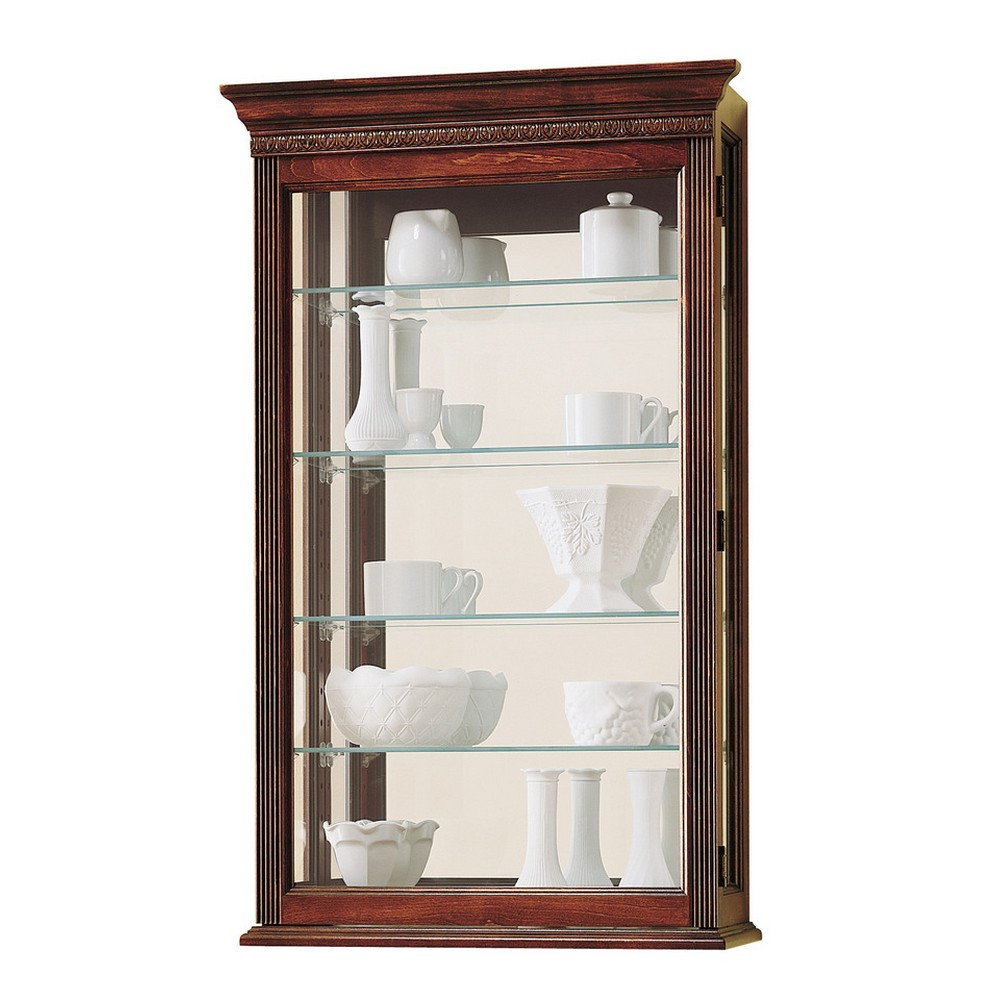 Howard miller edmonton wall display cabinet 685104 for Picture wall display
