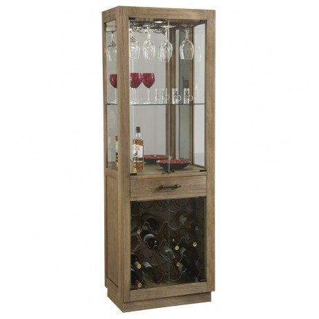 Howard Miller Sienna Bay Home Bar and Wine Cabinet 690030 690-030