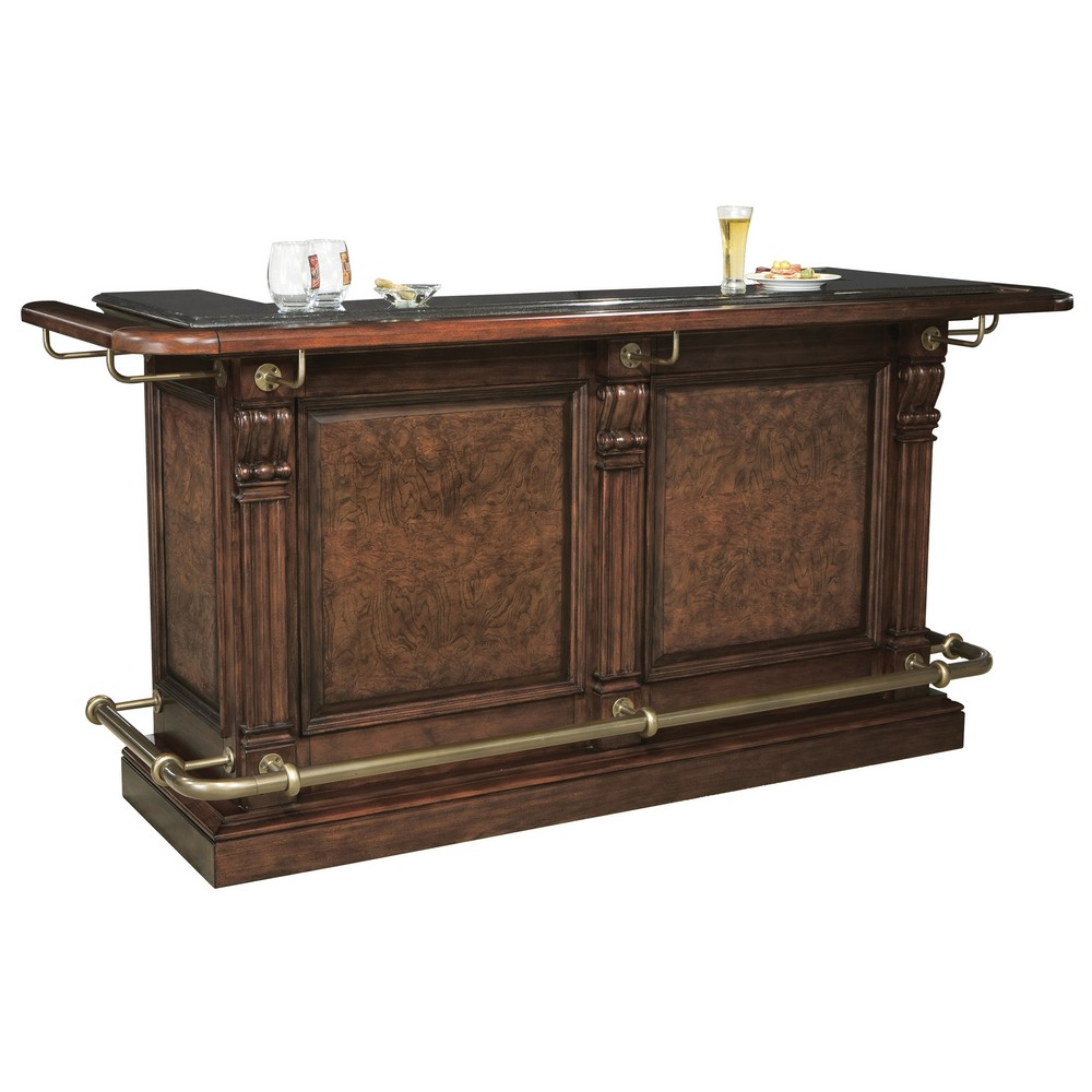 Home Bar Furniture: Howard Miller Northport Home Bar 693027