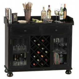 Home Bar - Cabernet Hills Wine Cabinet Howard Miller 695-002