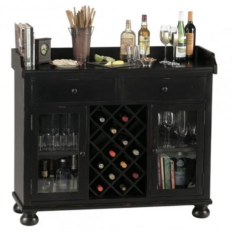 Home Bar - Cabernet Hills Wine Cabinet Howard Miller 695-002