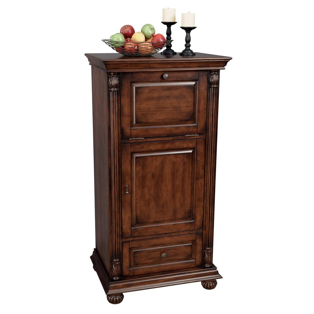 Howard Miller Cognac Bar Wine Cabinet 695078