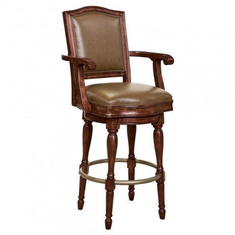 Howard Miller Cheers Bar Stool 697027 697-027