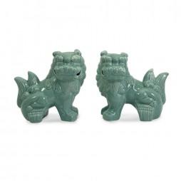 Choo Foo Dogs - Set of 2