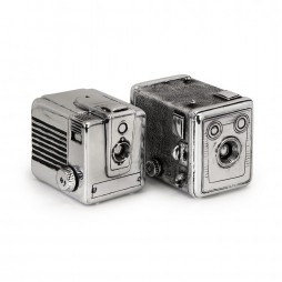 Vintage Camera Boxes - Set of 2