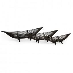 Kawayan Boat Bowls - Set of 3