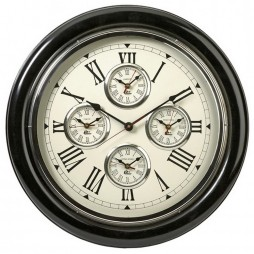 Five Country Wall Clock