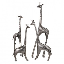 Safari Giraffe Herd - Set of 4