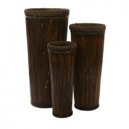Langham Tall Willow Planters - Set of 3