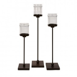 Flamenco Floor Candle Holders - Set of 3