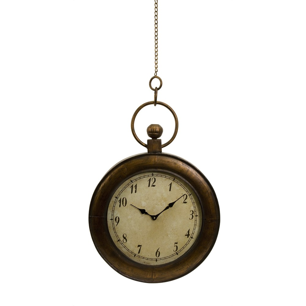 Wall clocks antique look oversized pocket watch as wall clock wall clocks antique look oversized pocket watch as wall clock made of iron with a glass face this pocket watch was definitely not made for your pocket amipublicfo Choice Image
