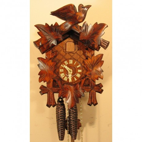 Sternreiter - German Hand Carved Cuckoo Clock with One-Day Movement