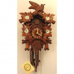 Rombach und Haas - German Feeding Birds Cuckoo Clock with One-Day Movement - 1205P