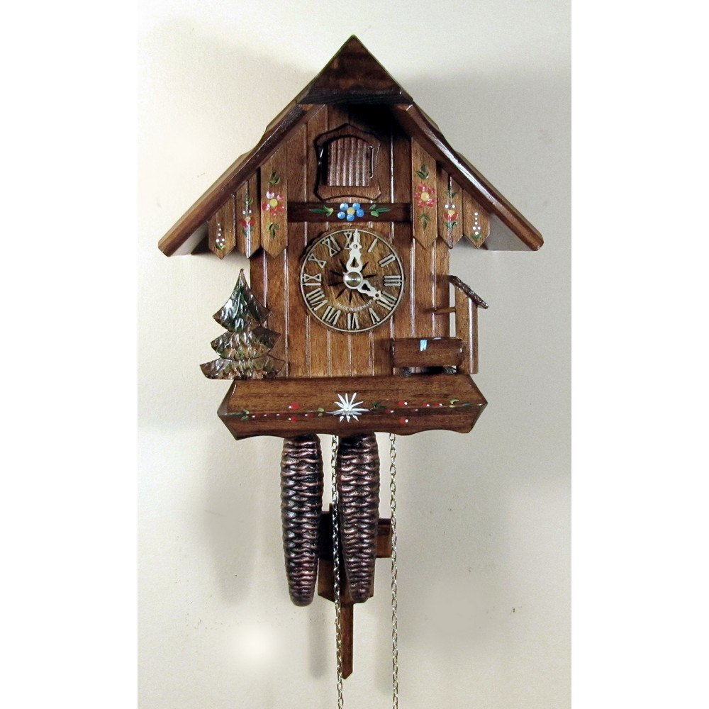Cuckoo Clock With Still Water Pump And Pine Tree One Day