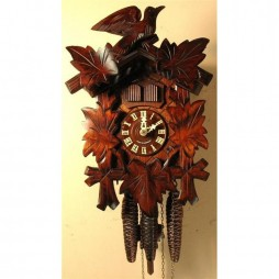 Cuckoo Clock One Day Musical Movement Musical Bird & Leaf