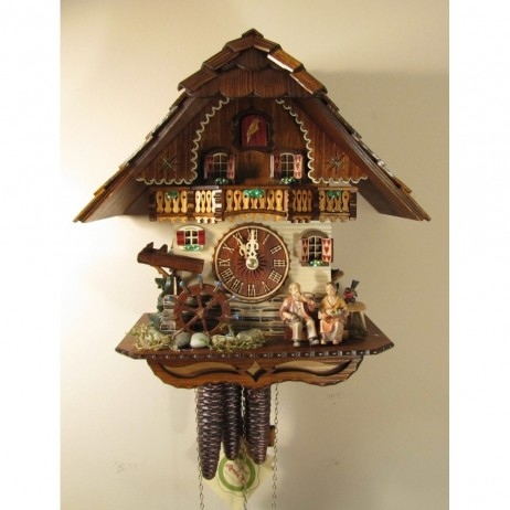 Oma und Opa Cuckoo Clock One Day Musical Movement