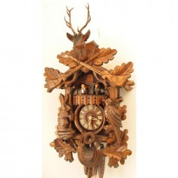 Cuckoo Clock One Day Musical Movement with Animated Dancers