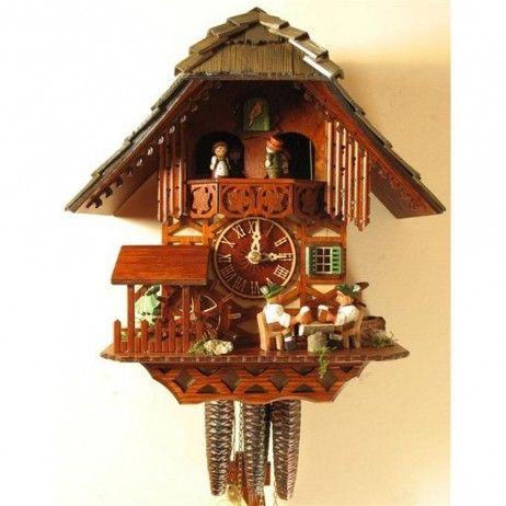 Rombach und Haas Prosit! Cuckoo Clock with One Day Musical Movement