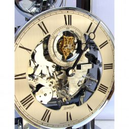 Kieninger Tourbillon Bells Mantel Clock 1713-57-01 - Dial