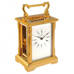 L'Epee Anglaise Gold-Plated Carriage Clock - 50.6731/001