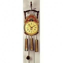 Rombach und Haas Rottenburg Glass Bell Reproduction Wall Clock 7304G