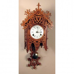Rombach und Haas Bamberg Decorative Mechanical Wall Clock