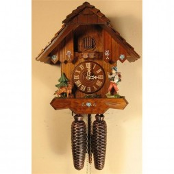 Rombach und Haas Happy Wanderer Cuckoo Clock with 8 Day Movement