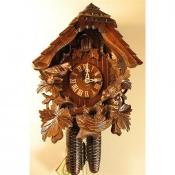 Rombach und Haas Feeding Birds Cuckoo Clock with 8 Day Movement