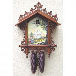 Rombach und Haas By the River Cuckoo Clock with 8 Day Movement