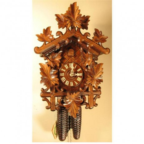 Rombach und Haas Vines and Leaves Cuckoo Clock with 8 Day Movement