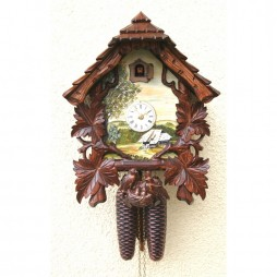 Rombach und Haas Schone Aussicht Cuckoo Clock with 8 Day Movement