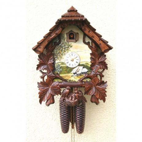Rombach und Haas Schone Aussicht Cuckoo Clock with 8 Day Movement