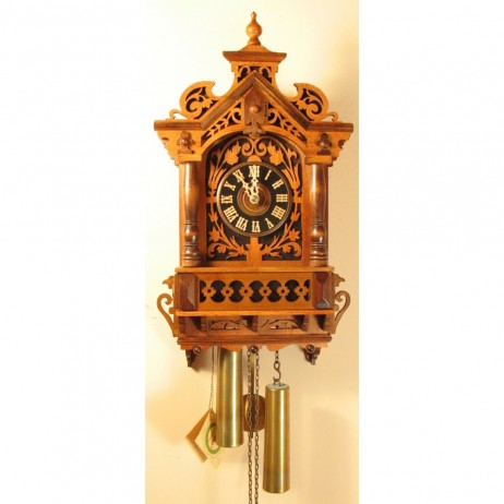 Rombach und Haas Fretwork Cuckoo Clock with 8 Day Movement