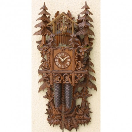 Rombach und Haas Birdcage Cuckoo Clock with 8 Day Movement
