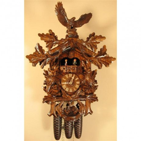 Rombach und Haas Eagle and Birds Cuckoo Clock with 8 Day Movement